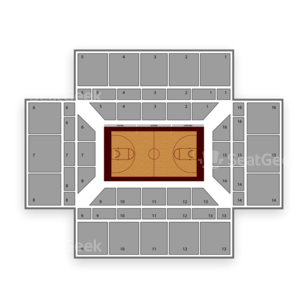 Maples Pavilion Seating Chart NCAA Womens Basketball