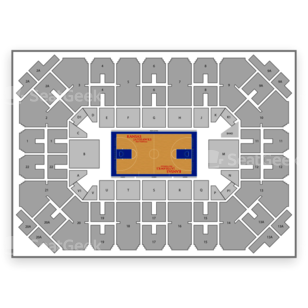 Allen Fieldhouse Seating Chart NCAA Football