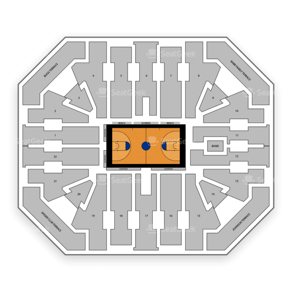 Richmond Spiders Basketball Seating Chart