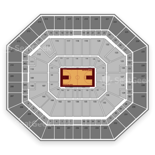 Arkansas Razorbacks Womens Basketball Seating Chart