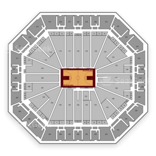 Arkansas Razorbacks Basketball Seating Chart