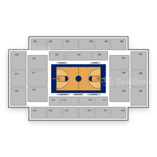Saint Joseph's Hawks Basketball Seating Chart