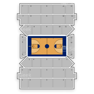 Carnesecca Arena Seating Chart NCAA Basketball