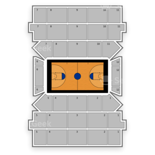 St. John's Red Storm Womens Basketball Seating Chart