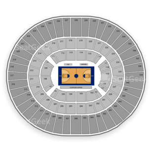 LSU Tigers Basketball Seating Chart
