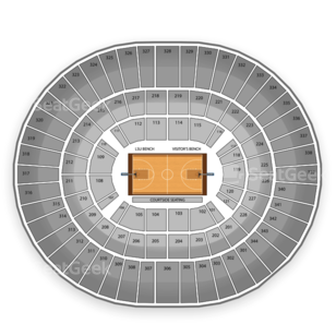 Pete Maravich Assembly Center Seating Chart NCAA Womens Basketball