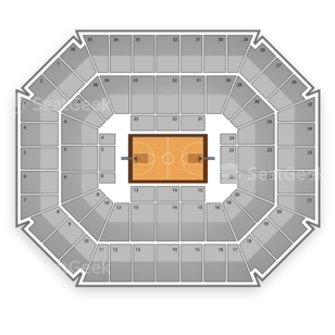Washington State Cougars Basketball Seating Chart