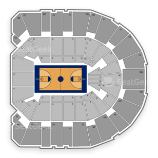Georgia Bulldogs Basketball Seating Chart