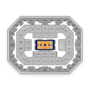 UCLA Bruins Basketball Seating Chart