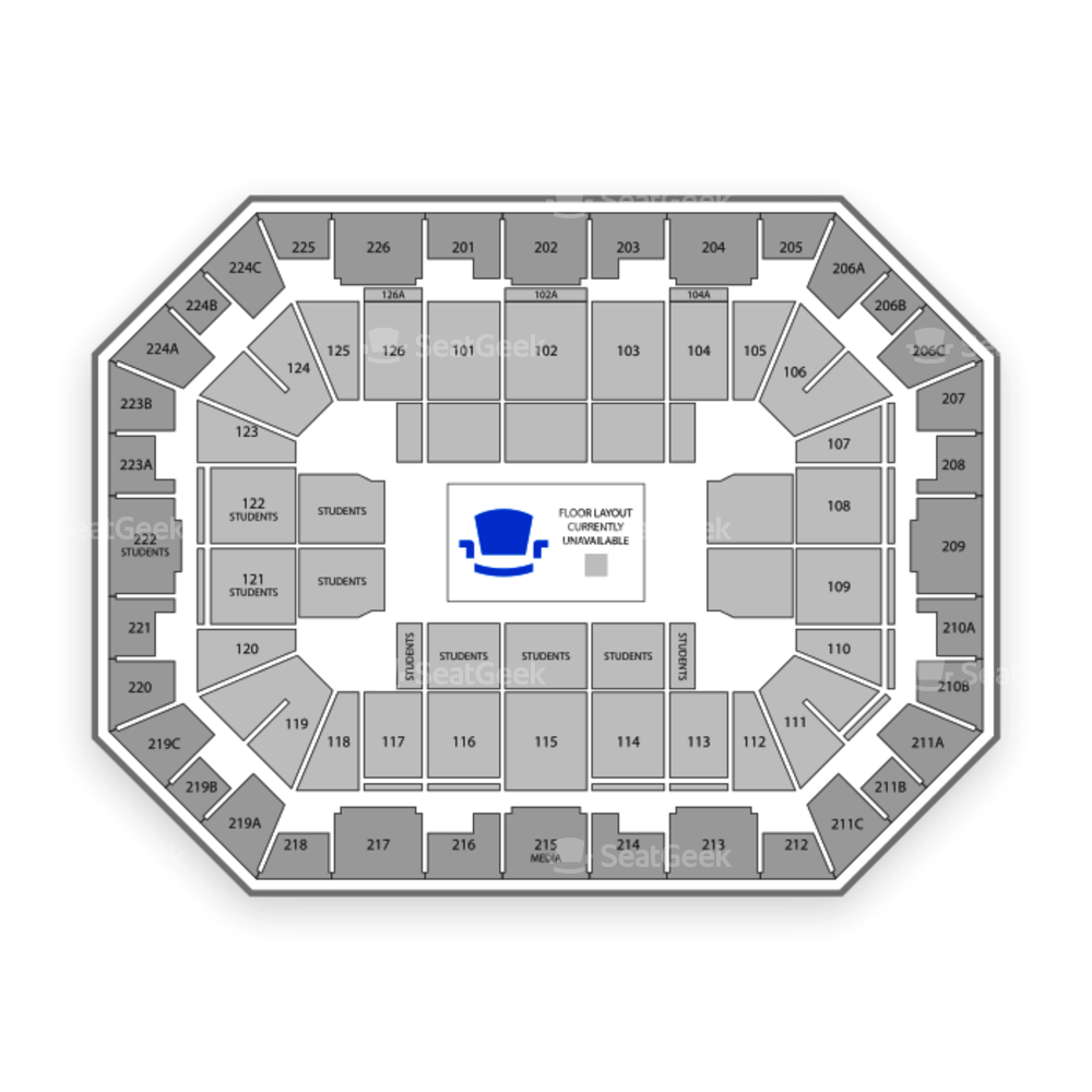 Pauley Pavilion Seating Chart Sports