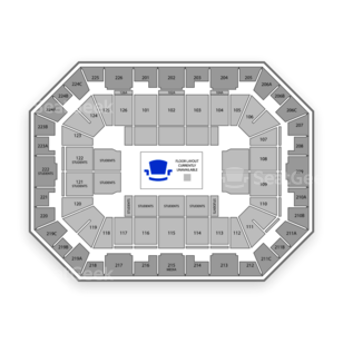 Pauley Pavilion Seating Chart Olympic Sports