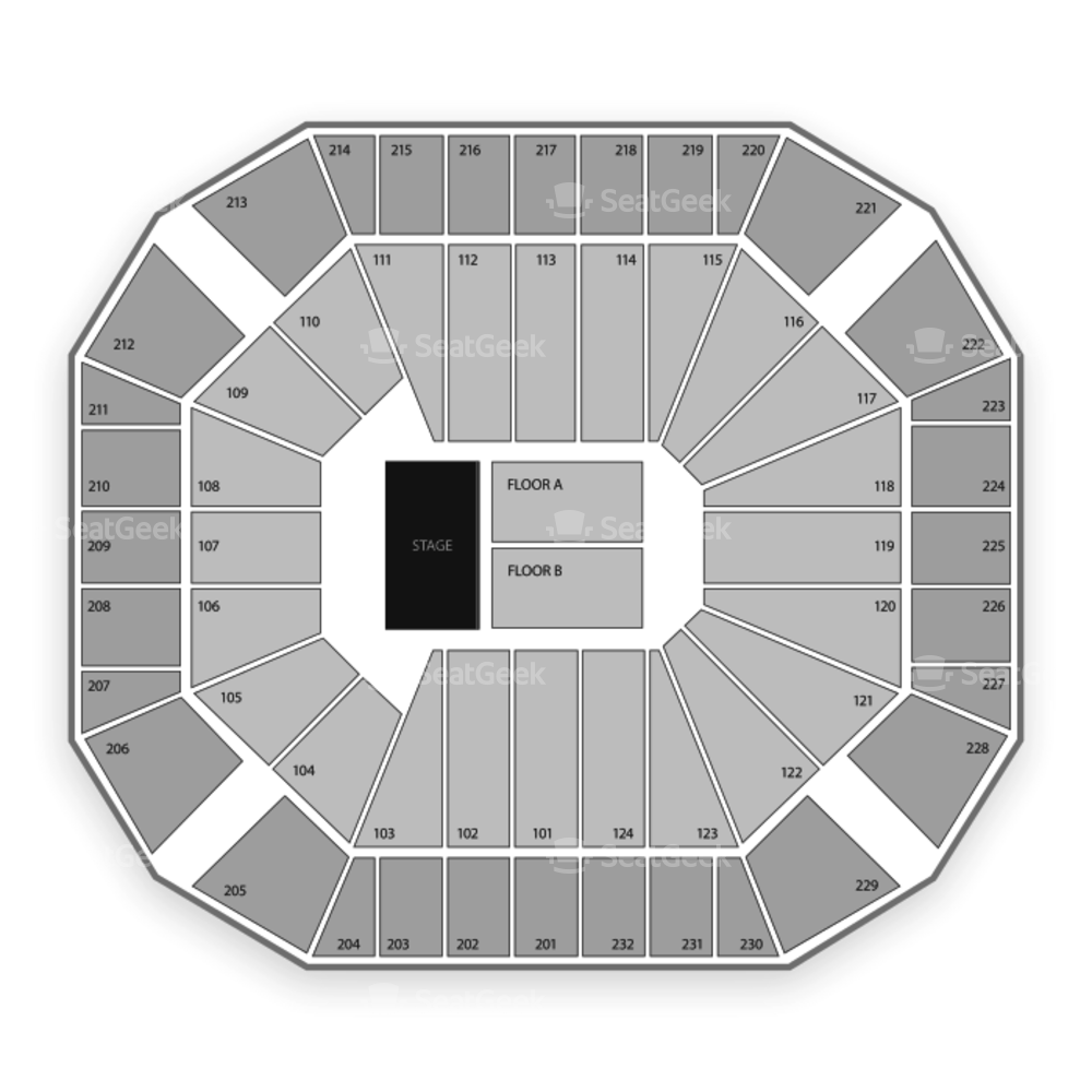 United Supermarkets Arena Seating Chart Concert