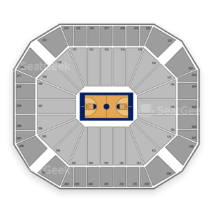 Texas Tech Red Raiders Basketball Seating Chart
