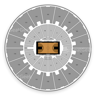 Mackey Arena Seating Chart NCAA Womens Basketball