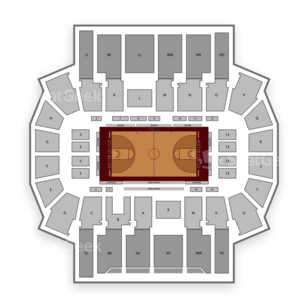 Silvio O. Conte Forum Seating Chart Parking