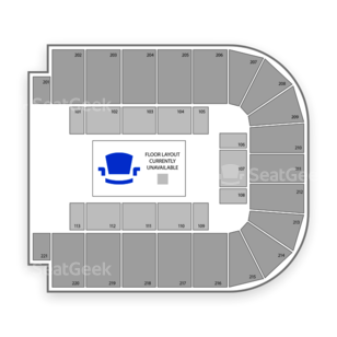 BancorpSouth Arena Seating Chart Concert