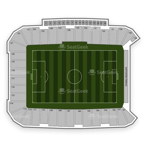 Dick's Sporting Goods Park Seating Chart | SeatGeek