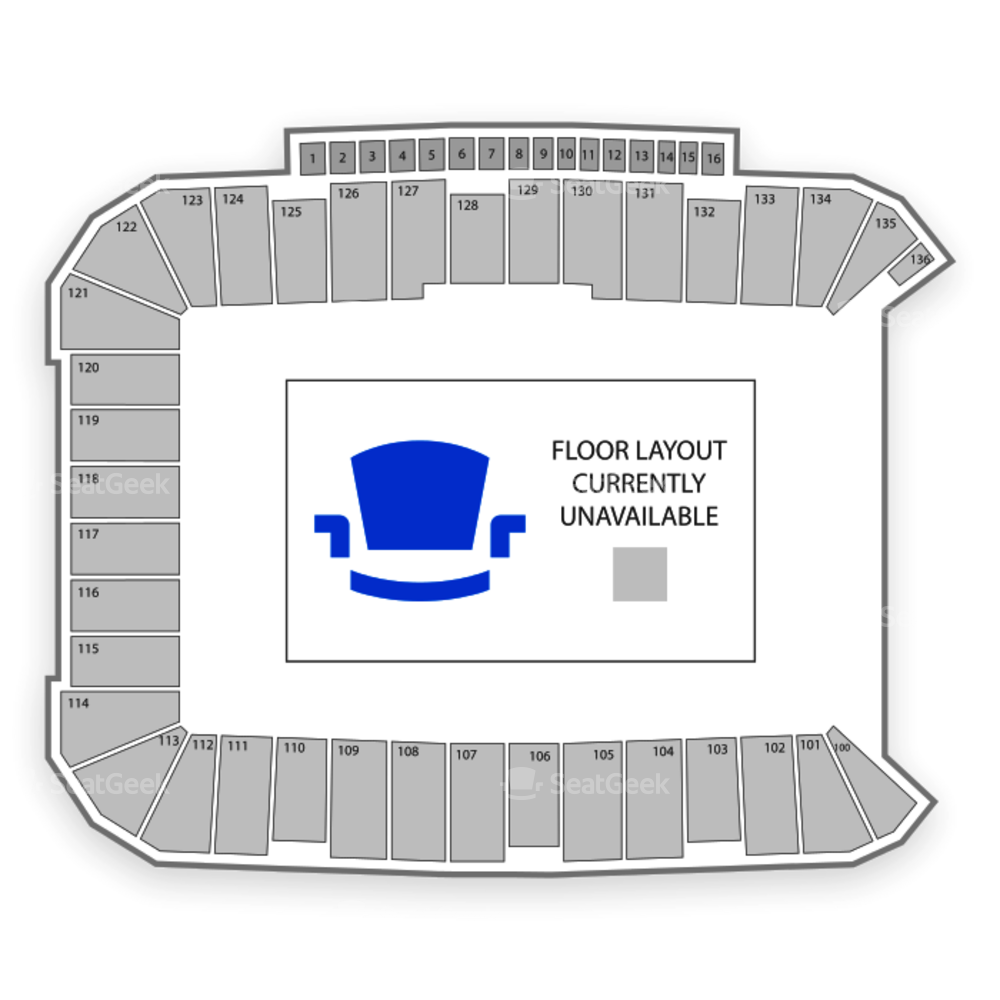Dick's Sporting Goods Park Seating Chart Parking
