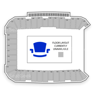 Dick's Sporting Goods Park Seating Chart Concert