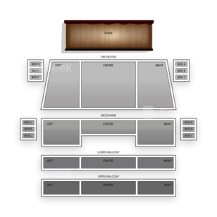 Spreckels Theatre Seating Chart Broadway Tickets National