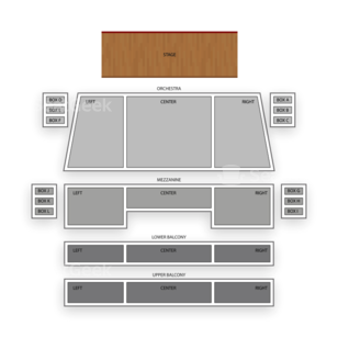 Spreckels Theatre Seating Chart Comedy