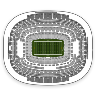 Washington Redskins Seating Chart