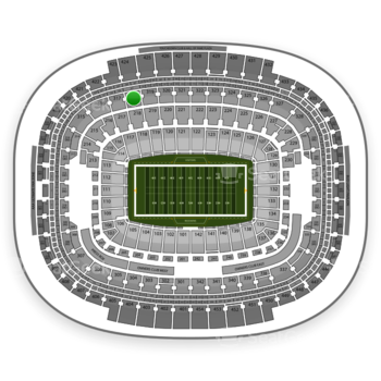 NFL at FedEx Field Section 318 View
