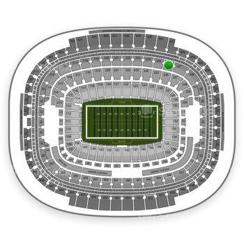 NFL at FedEx Field Section 326 View