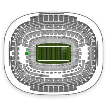 Washington Redskins at FedEx Field Section 211 View