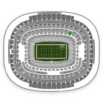 Washington Redskins at FedEx Field Section 226 View