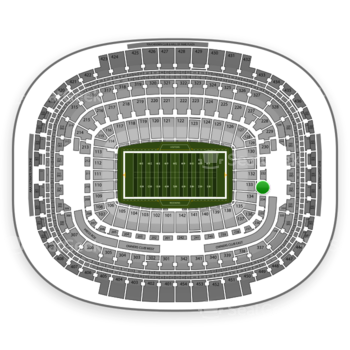 Washington Redskins at FedEx Field Section 233 View