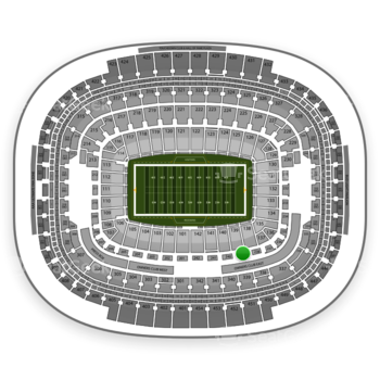 Washington Redskins at FedEx Field Section 239 View