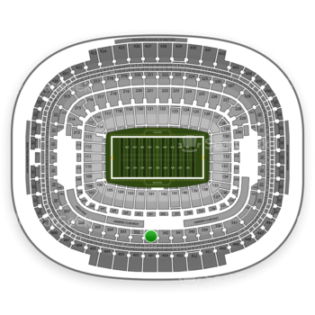 Washington Redskins at FedEx Field Section 301 View