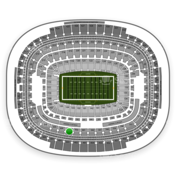 Washington Redskins at FedEx Field Section 303 View