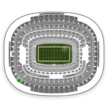 Washington Redskins at FedEx Field Section 408 View