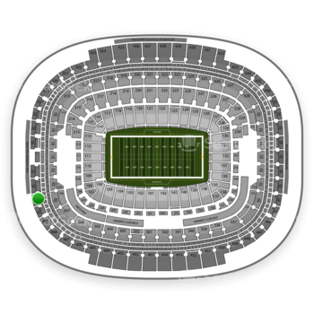 Washington Redskins at FedEx Field Section 411 View