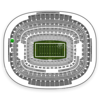 Washington Redskins at FedEx Field Section 416 View