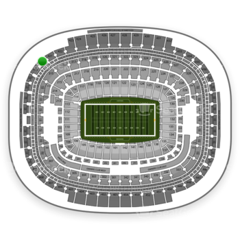 Washington Redskins at FedEx Field Section 420 View