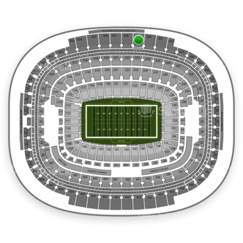 Washington Redskins at FedEx Field Section 429 View