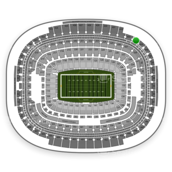 Washington Redskins at FedEx Field Section 434 View
