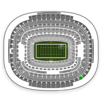 Washington Redskins at FedEx Field Section 448 View