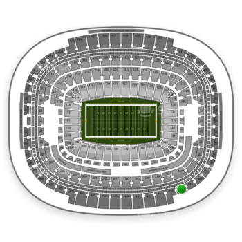 Washington Redskins at FedEx Field Section 449 View