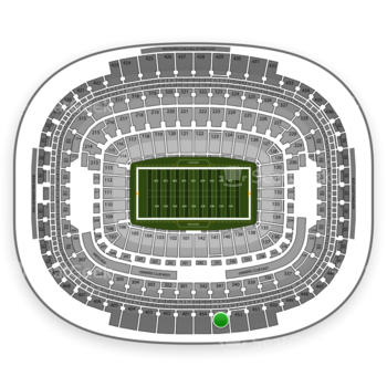 Washington Redskins at FedEx Field Section 453 View