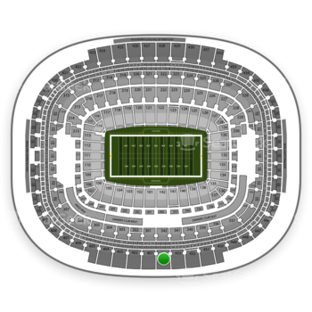 Washington Redskins at FedEx Field Section 454 View