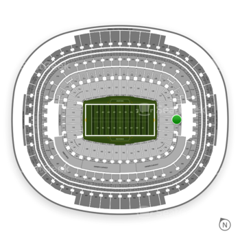 Washington Redskins at FedEx Field Section 232 View