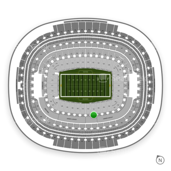 Washington Redskins at FedEx Field Section 241 View