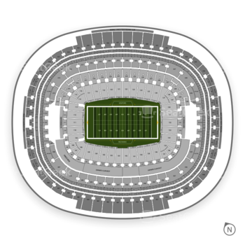 Washington Redskins at FedEx Field Section 311 View