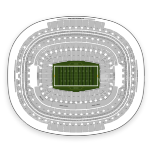 FedEx Field Seating Chart NCAA Football