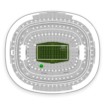 Washington Redskins at FedEx Field Section 104 View
