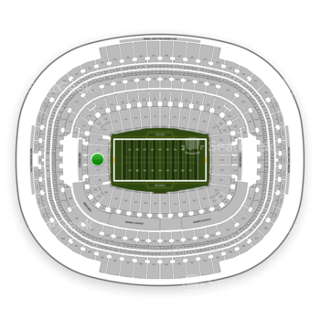 Washington Redskins at FedEx Field Section 111 View